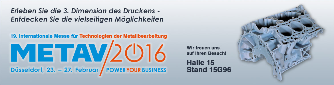Messe METAV 2016