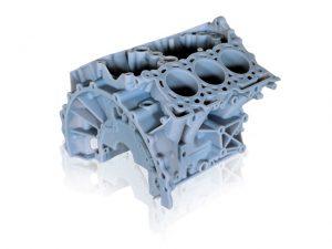 3D-Modell von einem Motorblock