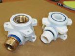 Geberit druckt Prototypen mit im 3D Druck mit der PolyJet Technologie