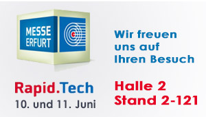 Rapid.Tech 2015: Messe zu, Thema 3D Druckern in Erfurt
