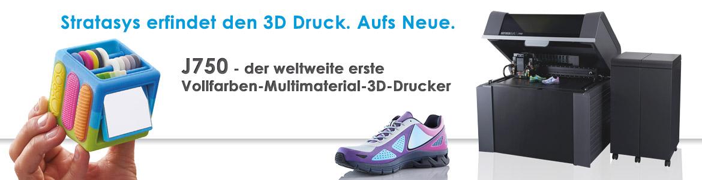 Stratasys J750 3D Drucker
