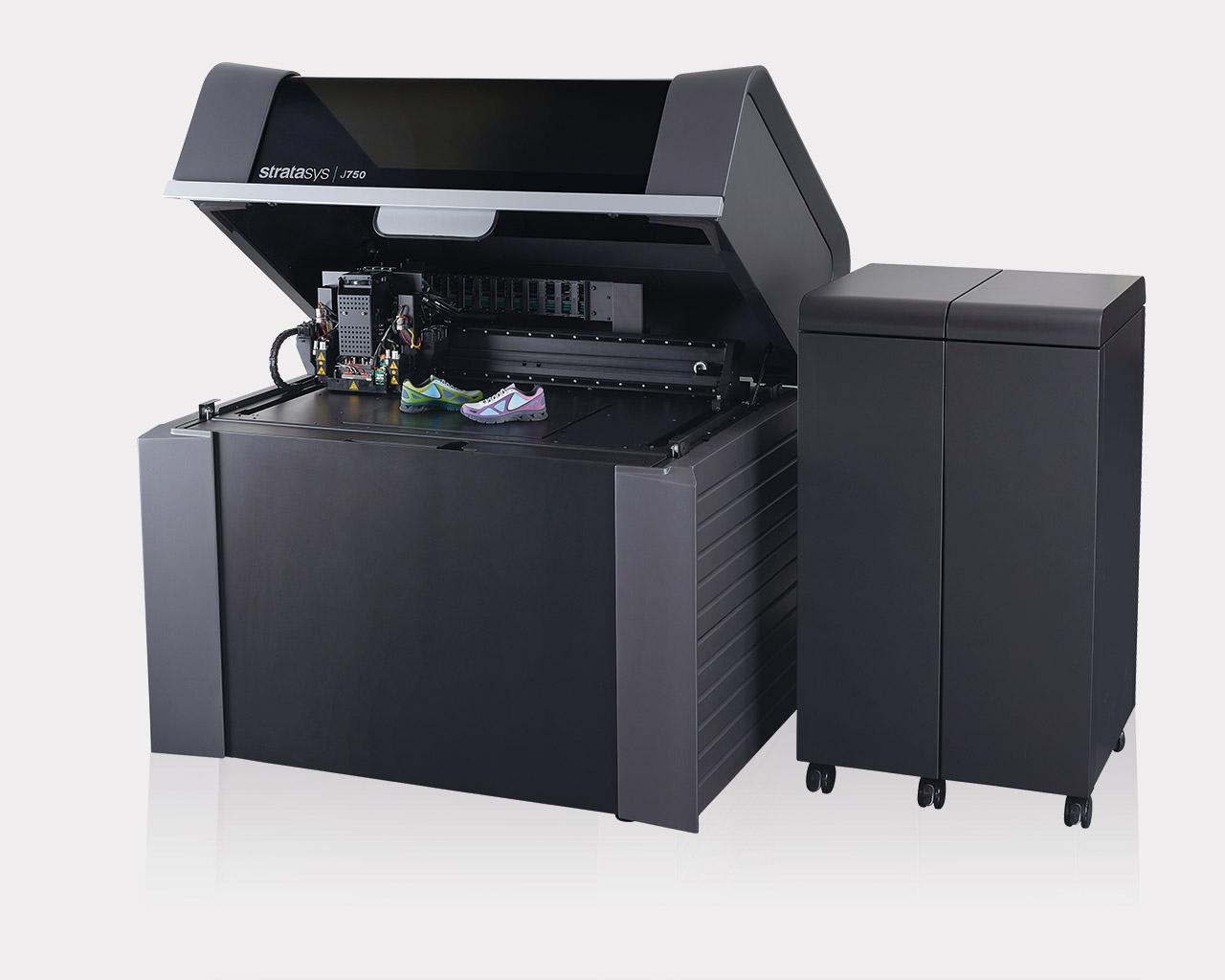 Der Vollfarb-Multimaterial 3D Drucker J750 von Stratasys