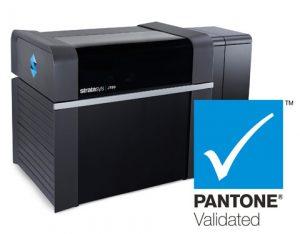 Die J735 und J750 3D Drucker von Stratasys sind Pantone validiert