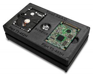 Montagehilfe zur Festplattenmontage aus ABS-ESD7