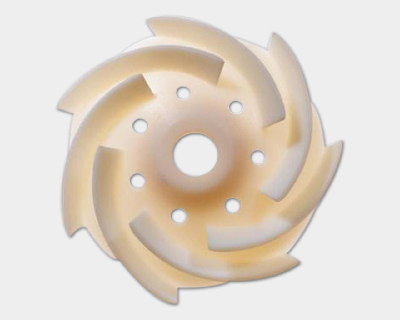 Ein 3D Druck aus VeroWhitePlus.