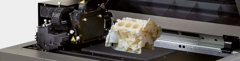 Objet24 3D Druck aus VeroWhitePlus