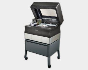 Desktop 3D-Drucker Objet30 mit Standfuß