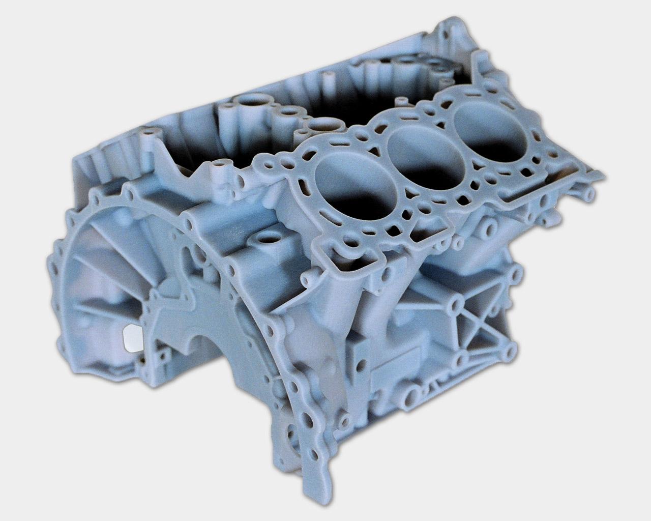 Hochkomplexe Oberflächen in der 3D-Druckdienstleistung