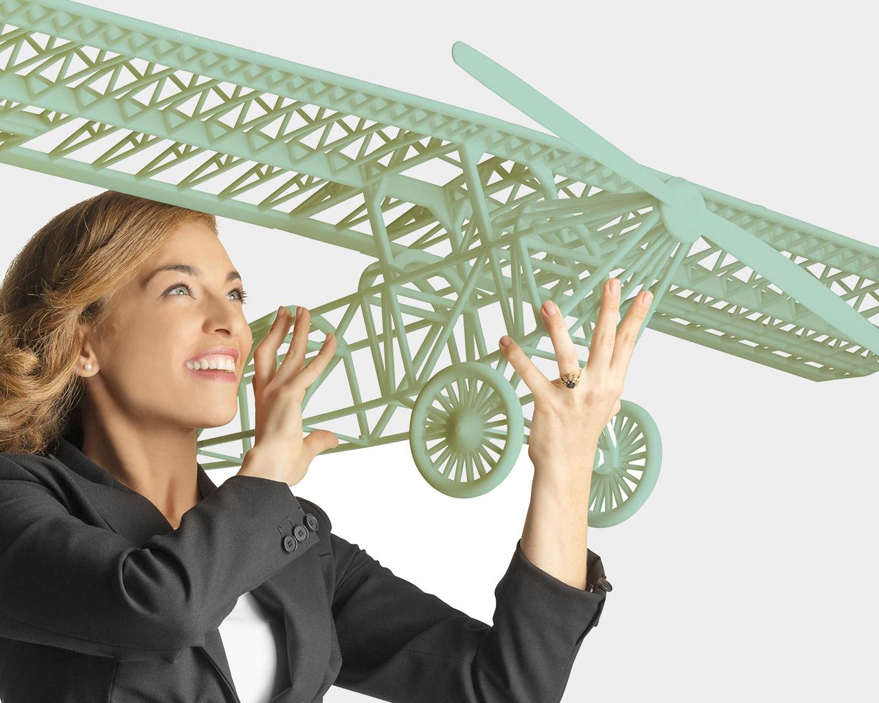Großraum 3D Drucker Objet1000 Muster