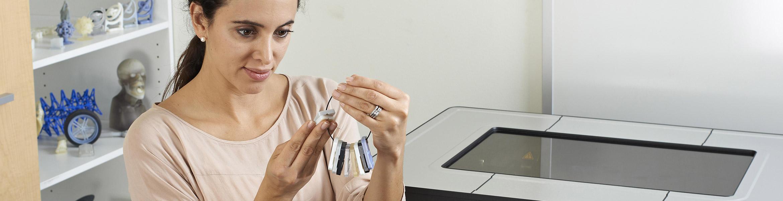 Detailierte Information zu dem PolyJet 3D Drucker Objet30 Prime.