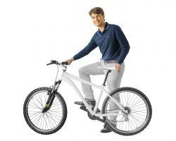 Fahrrad aus Multimaterial