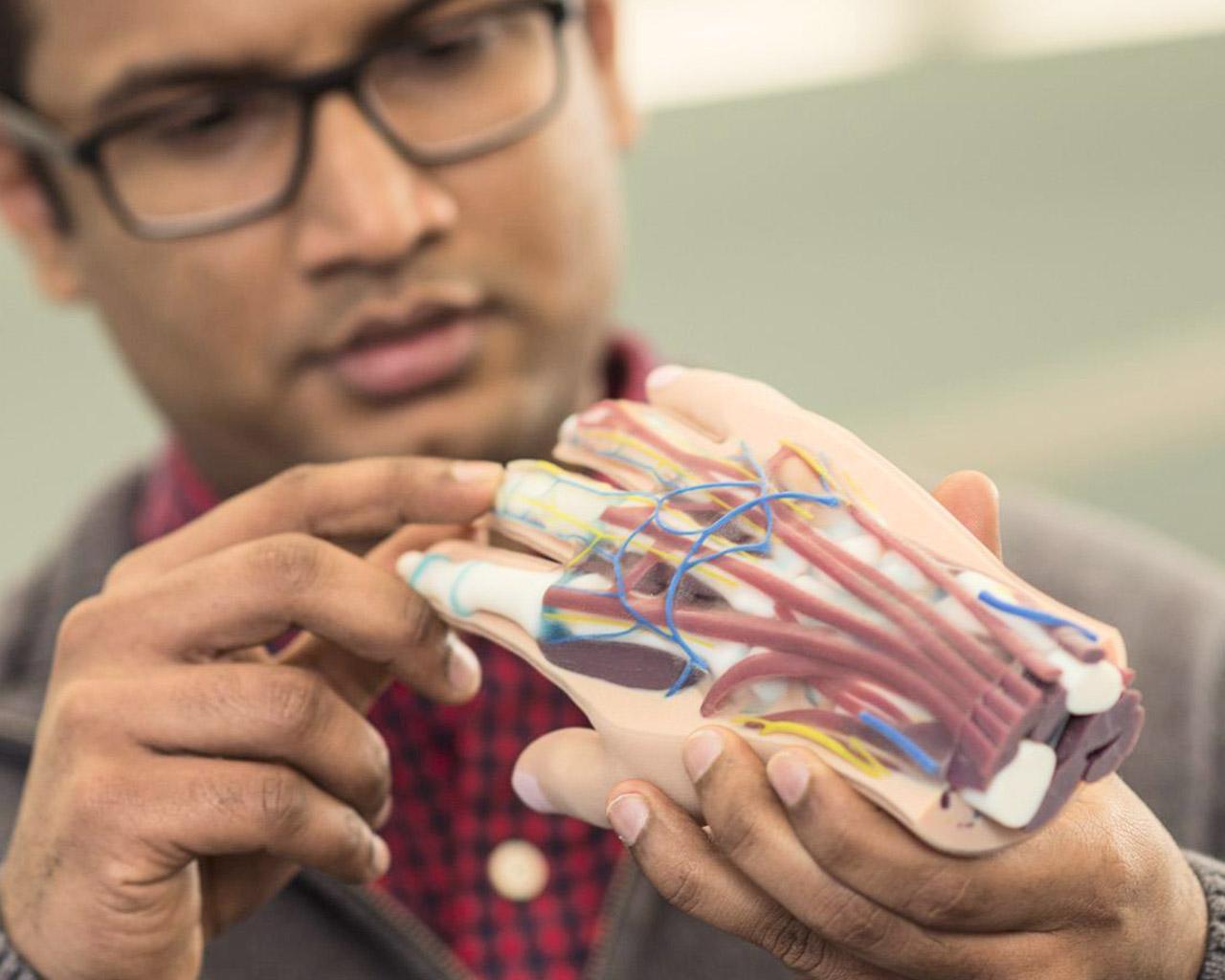 Digitale Materialien für den PolyJet 3D Druck.