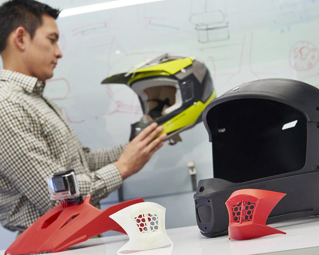 Blickdichte und feste PolyJet 3D Druck Materialien.
