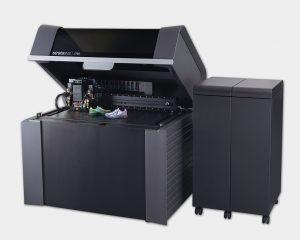 Offene Ansicht des Vollfarb 3D Drucker J750.