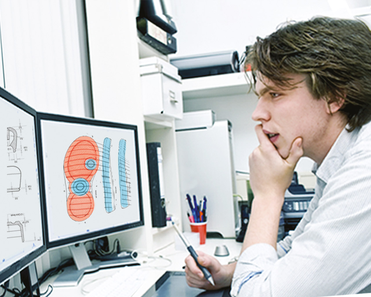 Vollfarb 3D Druck Design