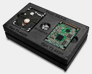 Festplattenhalterung aus ABS-ESD7