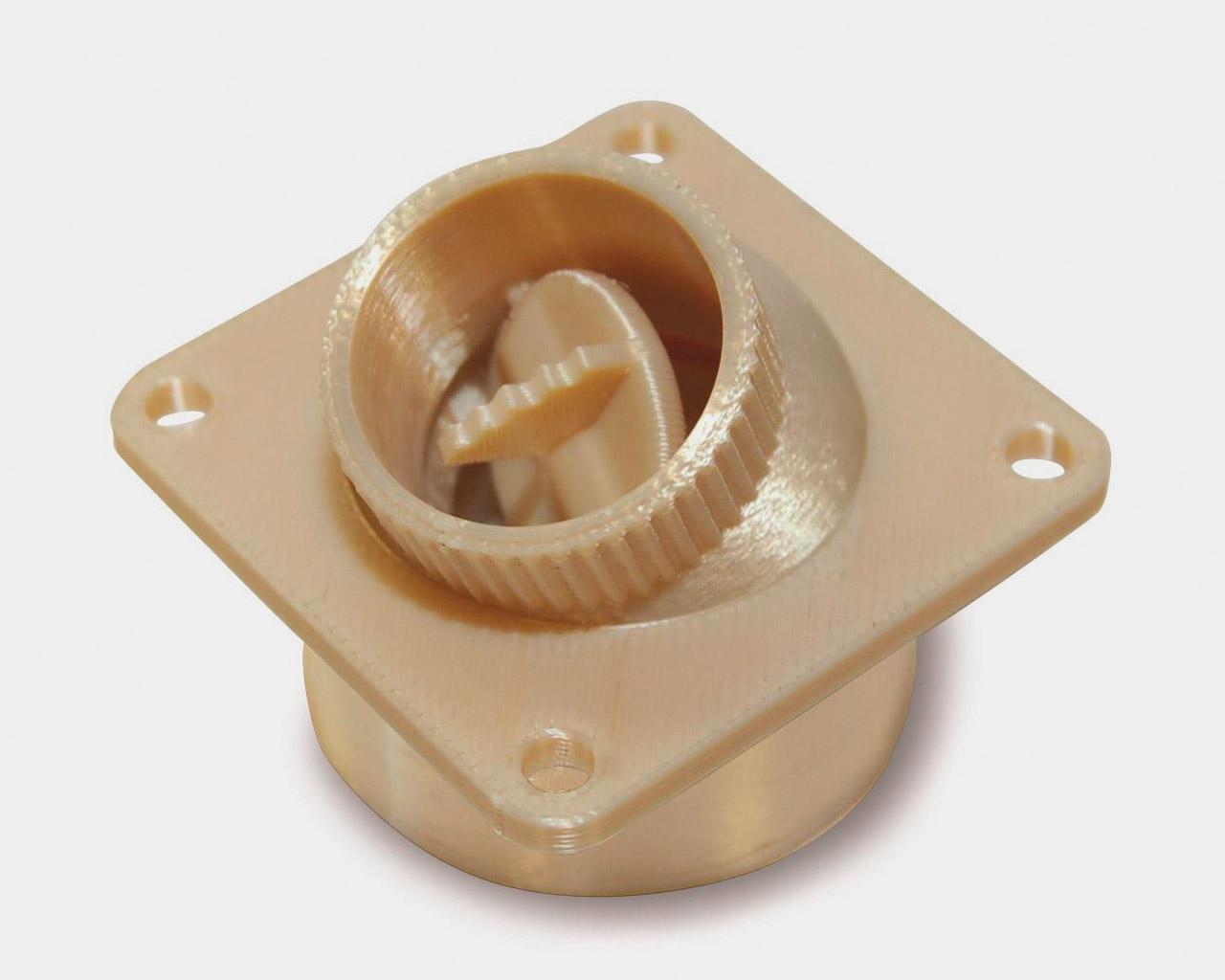 Ventilator aus Ultem 9085