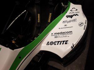 Fahrzeug der THM Motorsport
