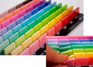 Flexible Farbpaletten für Stratasys Agilus Material