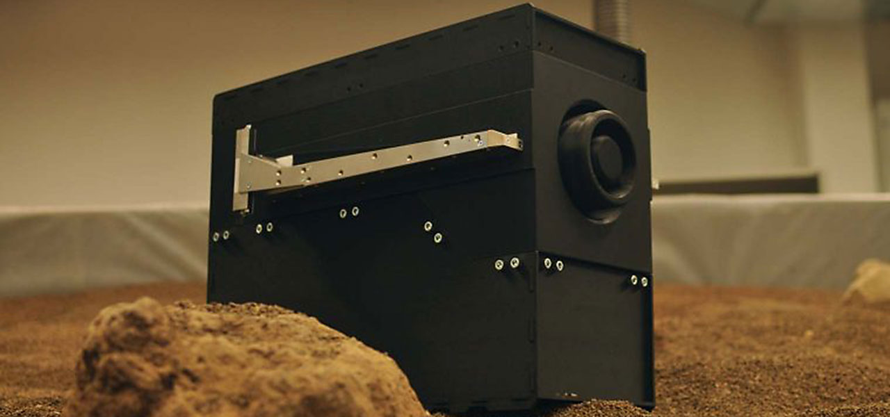 Teile des TransRoPorter-Prototyps des DLR wurden auf dem Stratasys F900 gedruckt