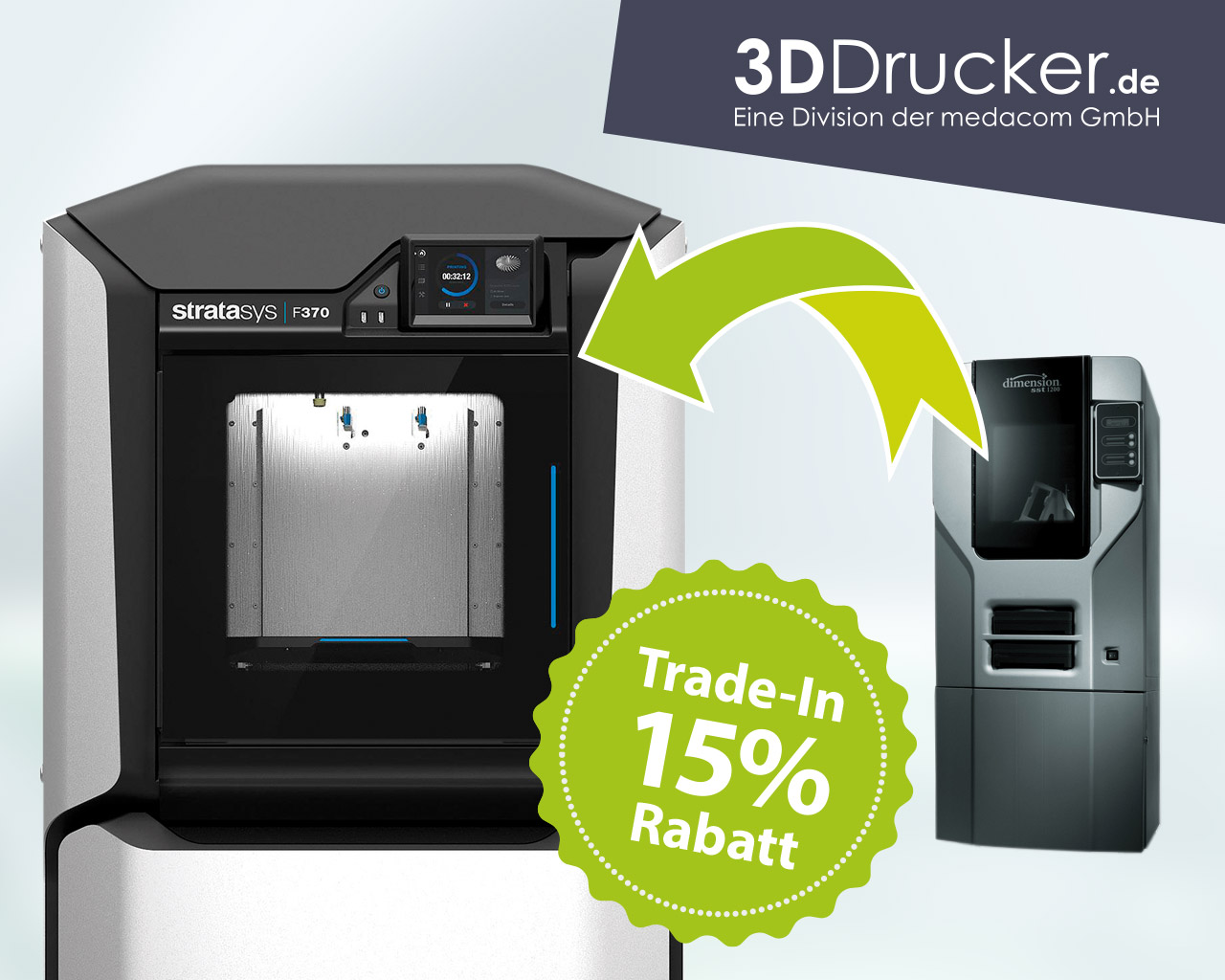 3D Druck Angebot   15% TradeIn-Rabatt