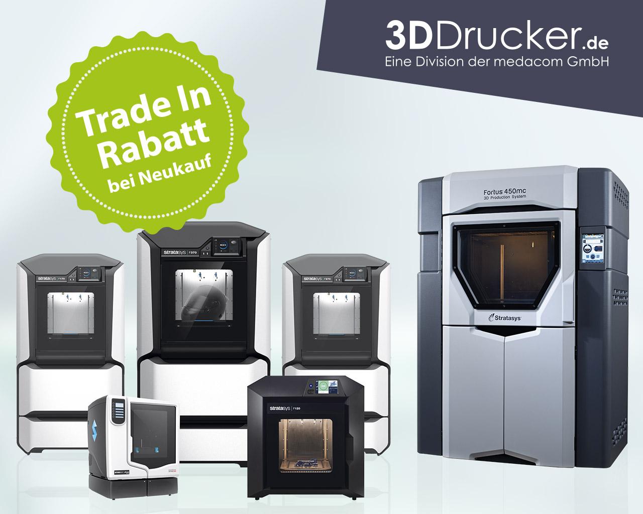 3D Druck Angebot   TradeIn Rabatt bei Neukauf