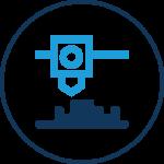 Icon FDM 3D Drucktechnologie