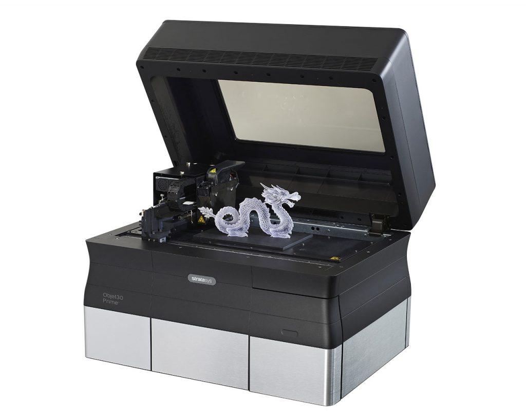 Der Objet30 Prime überzeugt in seiner Vielseitigkeit von druckbaren Materialien.