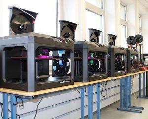 3D-Druck Erfahrung sammeln mit MakerBot Replicator+