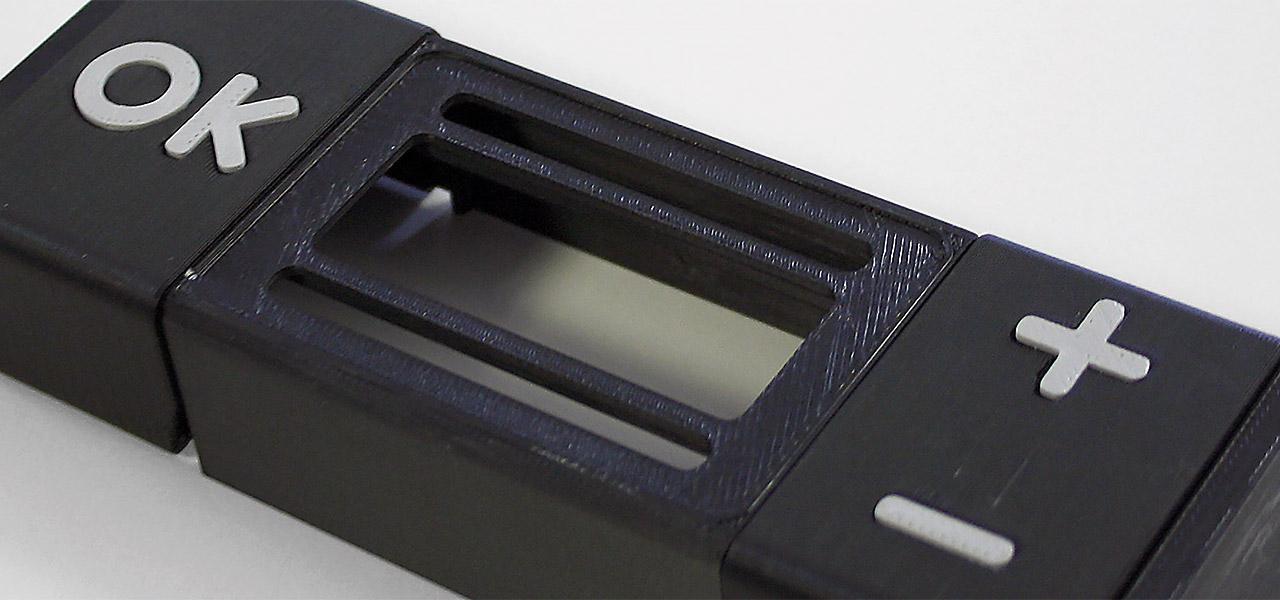 Balea Prototyp eines Gehäuses gedruckt auf dem Stratasys F170