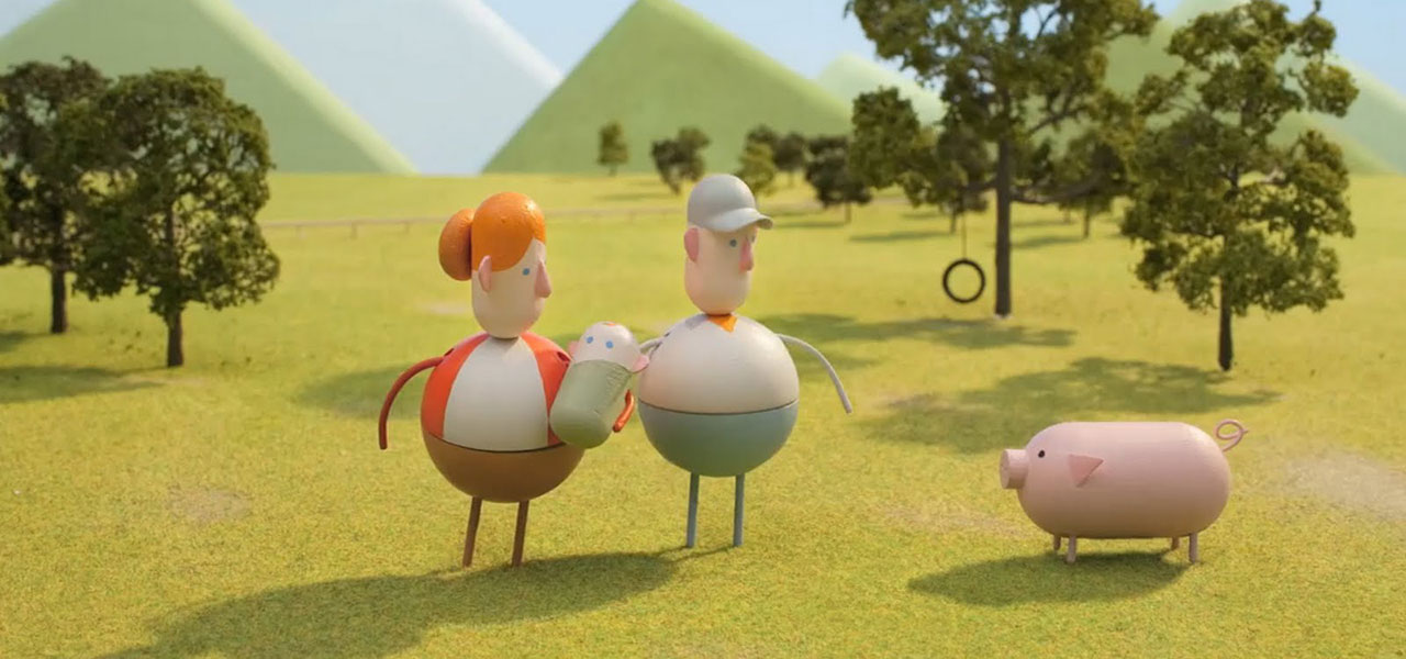 """Der Werbespot """"Back to the start"""" für Chipotle wurde mit Hilfe des 3D Druck erstellt."""