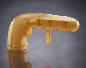 Lufteinlass aus Ultem 1010 Hochleistungs-Thermoplast