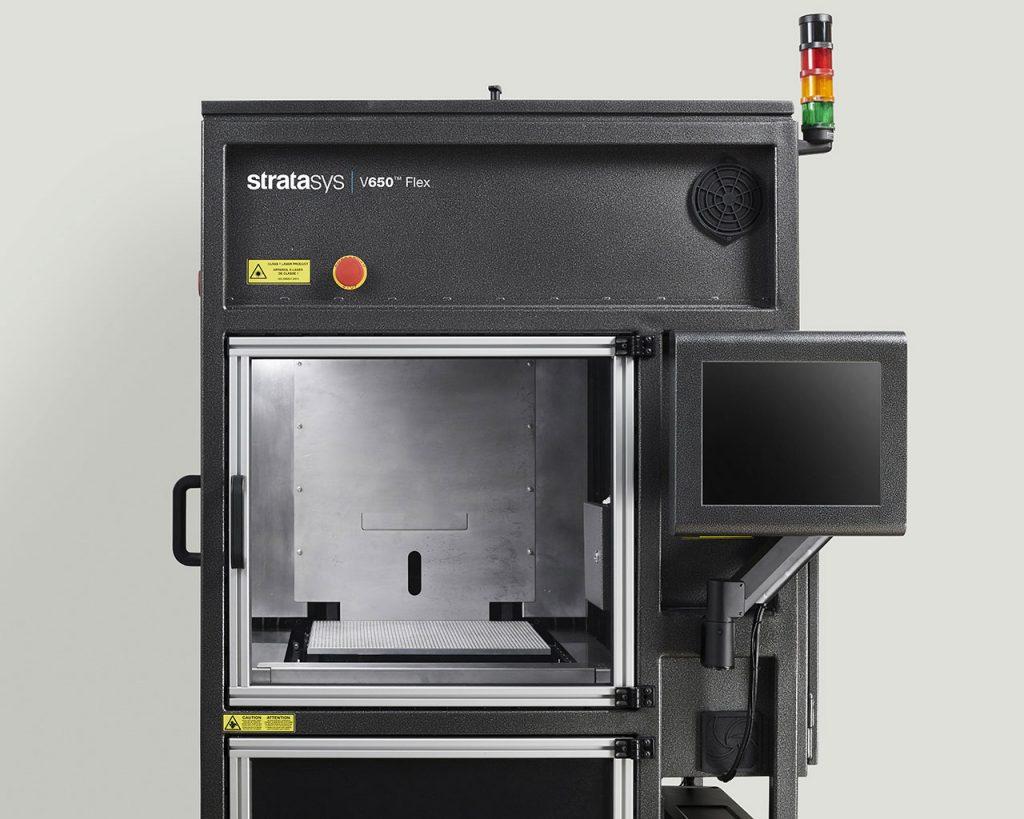 Der große Bauraum des V650 Flex von 508 × 508 × 584 mm