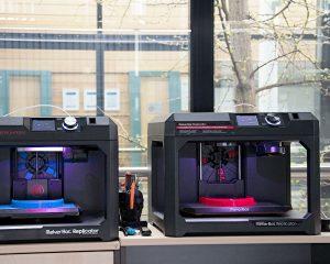 Der 3D-gedruckte Rahmen wird, unter anderem, in den MakerBot Replicator+ 3D Druckern erstellt.