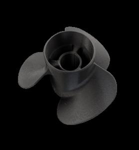 Schiffsschraube gedruckt mit dem MakerBot Method Carbon Fiber Edition aus Carbonfiber verstärktem Nylon