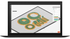 Vorschau in MakerBot Print