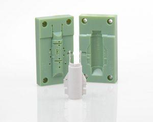 3D-Druck im Werkzeugbau und Formenbau, hier am Beispiel einer Spritzgussform