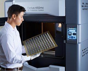 Produktionsteile im 3D Druck mit der Fortus 450mc