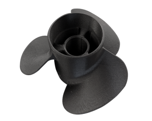 Propeller aus MakerBot Nylon Carbon Fiber