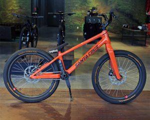 """Das fertige """"Danny Bike"""" wurde teilweise mit 3D-gedruckten Werkzeugen entwickelt."""