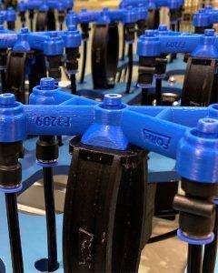 Die leichten 3D-gedruckten Greifwerkzeuge bestehen aus nur zwei Einzelteilen.