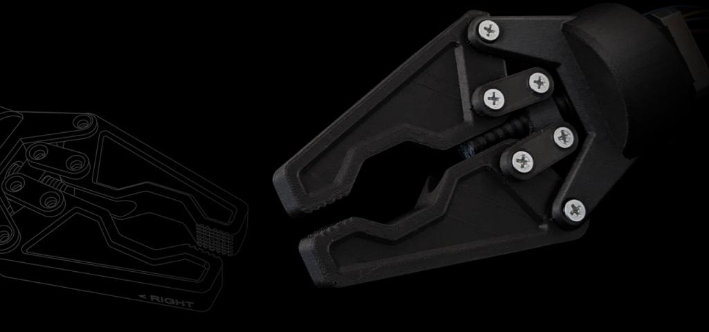 Greifwerkzeug aus MakerBot Nylon CF