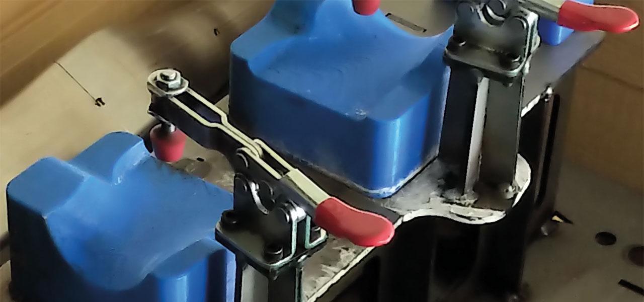 Die mawe presstec setzt bei der Produktion Ihrer Haltevorrichtungen auf die F170 von Stratasys