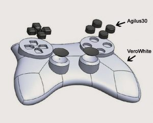Entwurf des Gamecontrollers