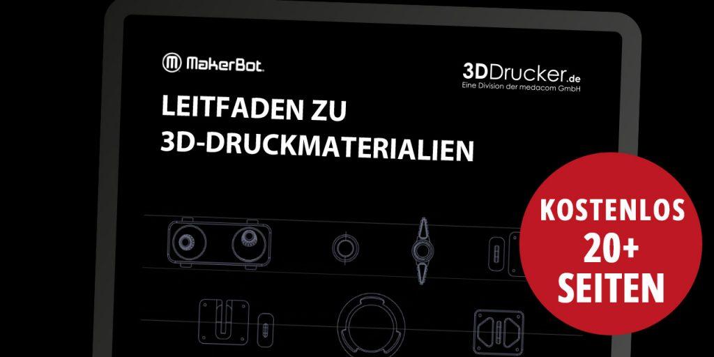 MakerBot Leitfaden zu 3D-Druckmaterialien Titelseite