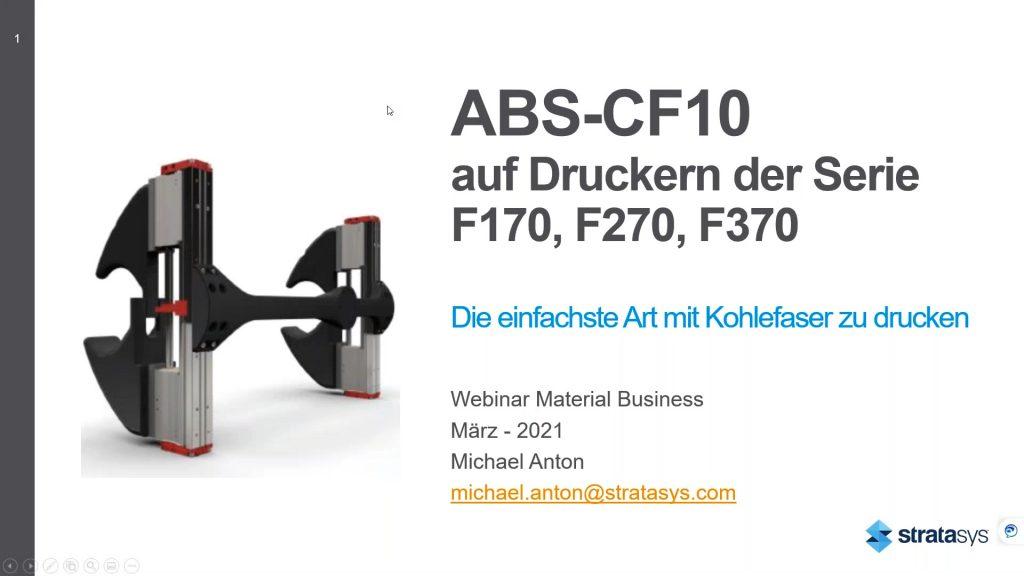 Webinar ABS-CF10 Video Thumbnail
