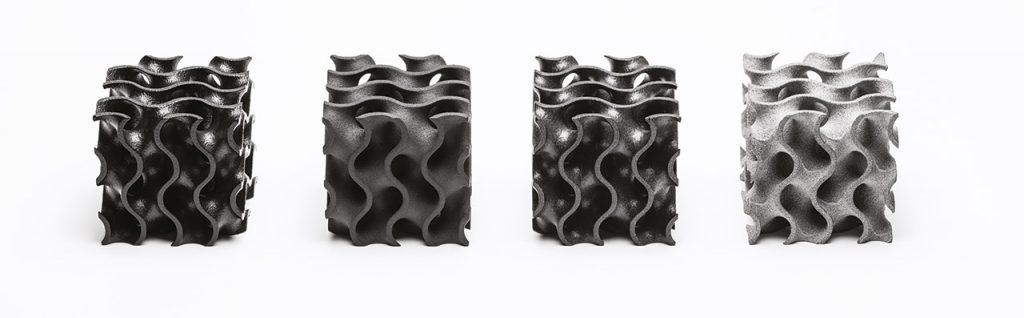 Bauteile aus hochergiebigem Polymer PA11 von Stratasys