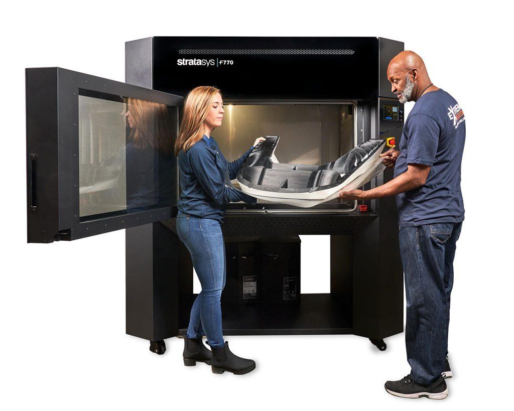 Großformat 3D-Druck mit der Stratasys F770