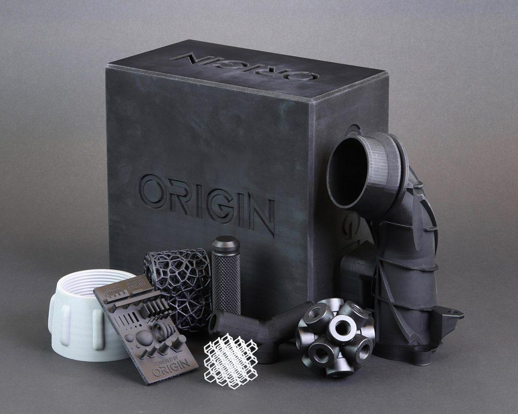 Für die Origin One wurden eine Vielzahl an Materialien entwickelt und validiert