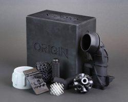 Für die Origin One wurden eine Vielzahl Materialien entwickelt und validiert